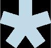 Bildmarke von HNL Physiotherapie Frankfurt ist ein fünfzackiger Stern