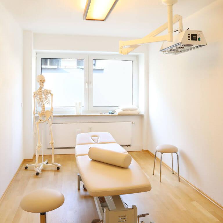 Behandlungsraum für Heilpraktiker