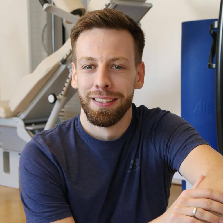 Physiotherapeut Matthias Hähnel aus Frankfurt