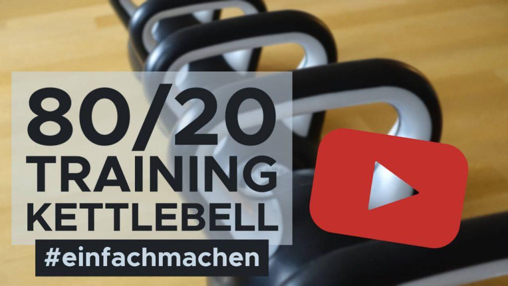 Kettlebells für das 80/20 Training