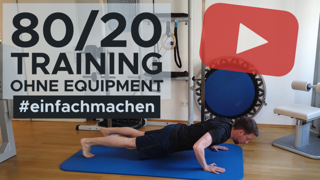 Training ohne Equipment mit der Liegestütz